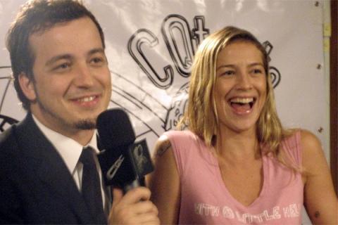 Rafael Cotrez e Luana Piovani