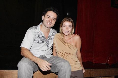 Marco Luque e Luiza Possi
