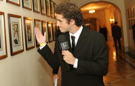 Felipe Andreoli no prêmio Contigo!