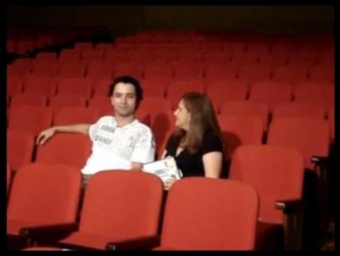 Bastidores da entrevista