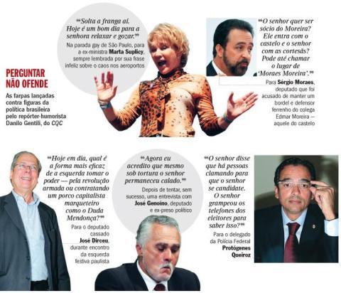 Revista Veja - Danilo Gentili