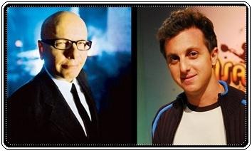 Marcelo Tas e Luciano Huck