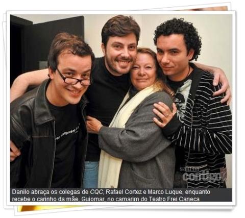 Danilo Gentili na Revista Contigo