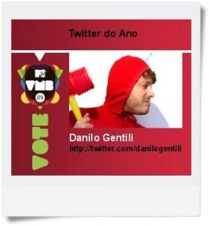 Danilo Gentili concorre a Twitter do Ano
