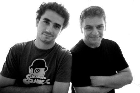 Felipe Andreoli e Luiz Andreoli em Brasília