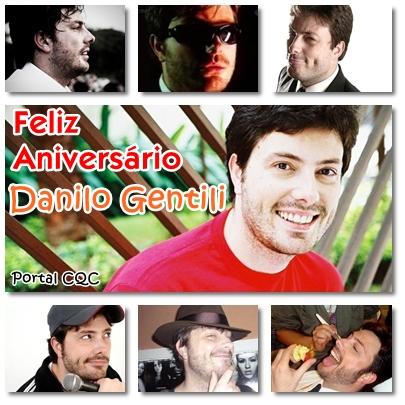 Feliz Aniversário Danilo Gentili!