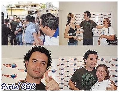 Marco Luque reencontra familiares em Campo Grande