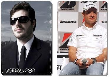 Danilo Gentili e Barrichello