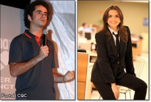 Felipe Andreoli defende Mônica Iozzi
