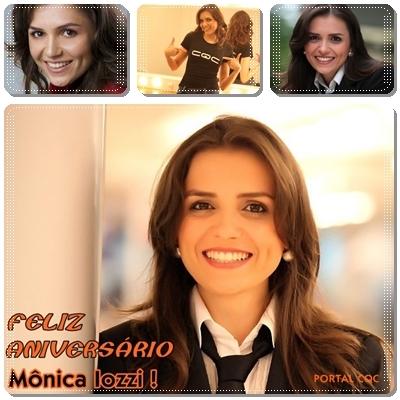 Feliz Aniversário Mônica!